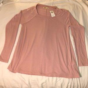 Mauve Swing Shirt Blouse